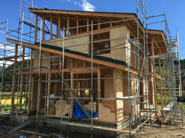 中野市W邸住宅新築工事 SWT工法の家