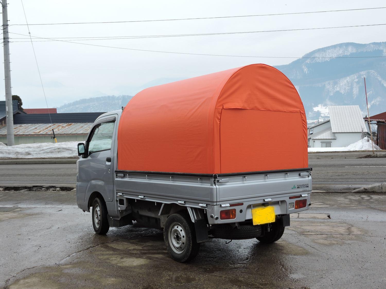 軽トラハウス橙