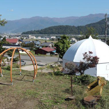 ドーム型テント(グランピング)